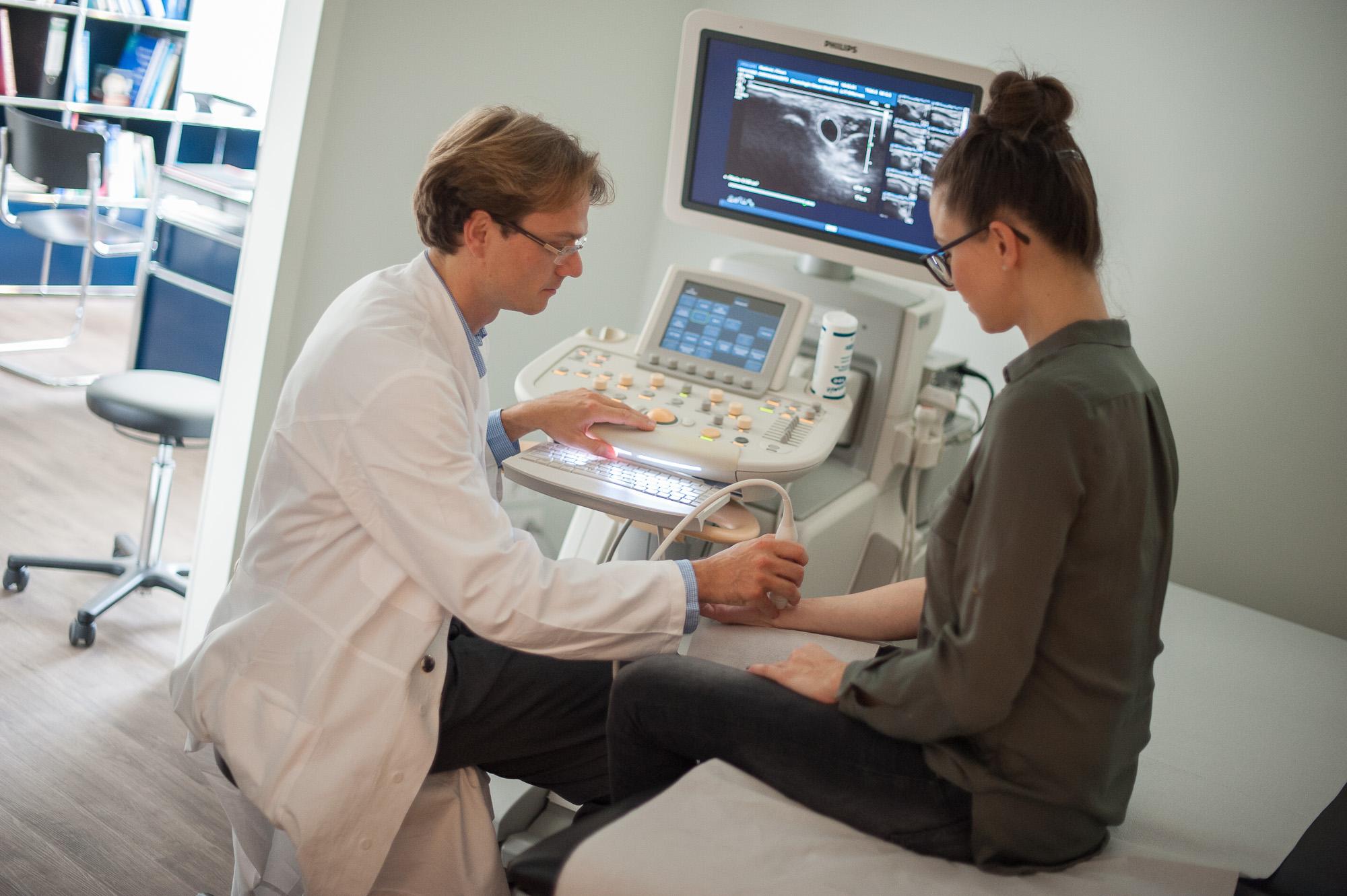 Nervensonographie, Neurologie Neuer Wall